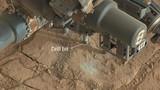 """Xem robot NASA khoan tìm """"kho báu"""" trên sao Hoả"""