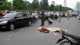 Ô tô cán chết nữ sinh ĐH Quốc gia Hà Nội