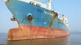 """1 tàu """"ma"""" trôi trên biển Hải Phòng"""