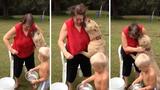 Bị thương nặng vì chó cưng Pitbull tấn công dữ dội
