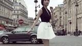 Ngọc Trinh hóa quý cô sành điệu dạo phố ở Paris