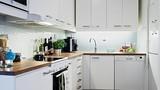 Tạo không gian rộng và thoáng cho căn bếp chật