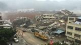 Tin mới nhất vụ lở đất ở TQ: 91 người mất tích