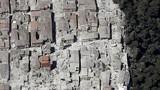 Cảnh tan hoang sau trận động đất ở Italy nhìn từ trên cao