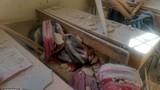 Hiện trường tan hoang vụ pháo kích trường học ở Aleppo