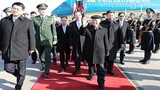 Lễ đón Tổng Bí thư Nguyễn Phú Trọng tại sân bay Bắc Kinh