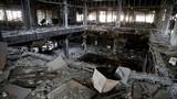 Cảnh tan hoang trong trường Đại học Mosul mới giải phóng khỏi IS