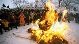 Chùm ảnh Lễ hội tiễn mùa đông ở nước Nga