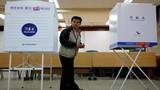 Toàn cảnh cử tri Hàn Quốc bỏ phiếu bầu tổng thống mới