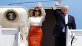Ảnh: Vợ chồng Tổng thống Trump lên đường công du nước ngoài