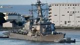 Tìm thấy thi thể thuỷ thủ trong tàu chiến Mỹ bị đâm móp
