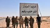 Ảnh: Quân đội Syria thừa thắng xốc tới ở Deir Ezzor