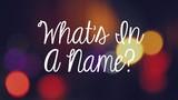 Bí mật về liên hệ giữa tên gọi và tuổi thọ con người