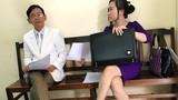 Vợ trẻ đại gia Lê Ân xuất hiện tại tòa, xem chồng tranh tài sản