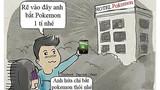 Những chuyện éo le khi chơi trò bắt Pokémon
