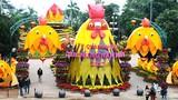"""Ảnh: Linh vật Tết """"mái ấm hạnh phúc"""" ở Quảng Ngãi"""