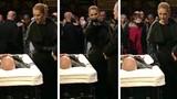 Celine Dion đau xót tiễn biệt chồng trong lễ tang