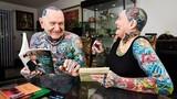 Gặp cặp vợ chồng xăm trổ hạnh phúc nhất thế giới