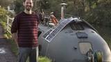 Độc đáo căn nhà di động được làm từ thuyền cứu sinh
