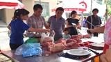 Dân Hà Nội đổ xô mua thịt lợn đồng giá 39.000 đồng/kg