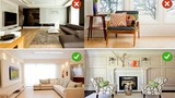 Những sai lầm bày nội thất phòng khách nhà nào cũng mắc