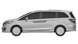 """Honda Odyssey lộ diện thế hệ mới đầy """"sang chảnh"""""""