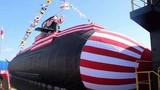 Cận cảnh lễ hạ thủy tàu ngầm Soryu thứ 7 Nhật Bản