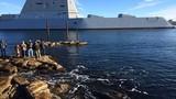 Nga đau lòng thừa nhận sức mạnh siêu hạm USS Zumwalt Mỹ