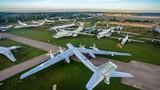Ảnh độc đáo vô cùng bảo tàng không quân lớn nhất Nga