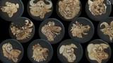 Họa sĩ Việt gây choáng khi vẽ 12 con giáp trên chảo