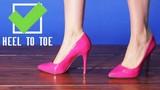 Cách đi giày cao gót chuẩn nhất để không bị chê nhà quê