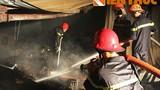 Cháy lớn tại công ty sản xuất nhang, dân hoảng hốt di tản