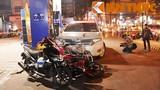 Xe điên đâm người ở trạm xăng, nhiều người bị thương