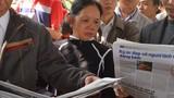 Phát hàng ngàn đĩa nhạc, báo miễn phí về ông Thanh