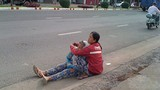 Những chiêu giả dạng bệnh hoạn để xin tiền ở Biên Hòa
