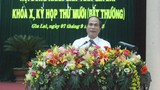 HĐND tỉnh Gia Lai họp bất thường bầu chủ tịch mới