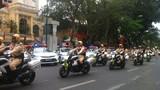 CSGT Hà Nội ra quân 100% phục vụ Đại hội Đảng 12