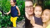 Đoan Trang khoe ảnh con gái lai tây cực xinh đáng yêu
