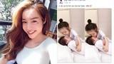 Rộ tin đồn hot girl Elly Trần đã sinh con lần 2