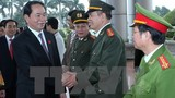 Chủ tịch nước Trần Đại Quang thăm và làm việc tại Ninh Bình