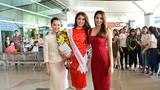 Phạm Hương, Thiên Lý tiễn Lệ Hằng đi thi Miss Universe 2016
