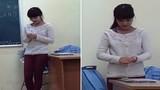 Cô giáo xinh đẹp ngượng khi được sinh viên hát tặng