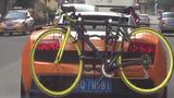 Đại gia đi Lamborghini, chở theo xe đạp gây sốt