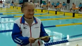Cụ bà 100 tuổi lập kỷ lục bơi lội khó tin