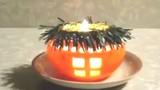 Cách làm nến hình quả cam tuyệt đẹp chào đón Halloween