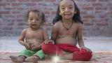 Kỳ lạ hai chị em 7 tuổi bị lão hóa thành... cụ già