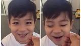 Bé trai vừa hát vừa nhổ răng cực đáng yêu