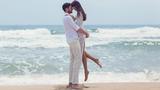 Ảnh độc: Hà Anh diện bikini chụp ảnh cưới cùng chồng Tây