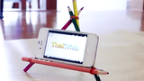 Tự chế giá đỡ điện thoại từ những vật liệu không ngờ