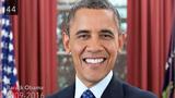 Nhìn lại 44 đời Tổng thống Mỹ trong 1 phút